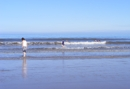 The beautiful sandy beach at Skegness. Copyright © Maria Vincent 2009.